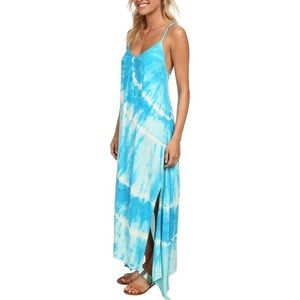Billabong tie dye maxi dress